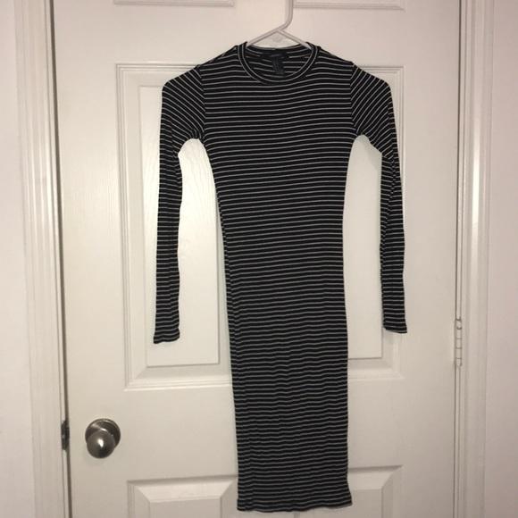 Forever 21 Dresses & Skirts - Women's Long sleeved tight dress